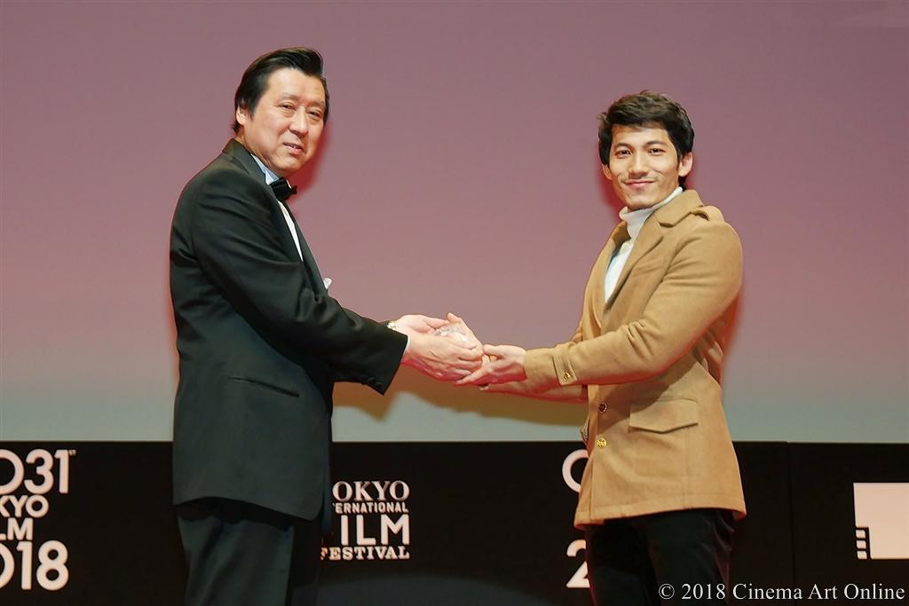 【写真】第31回 東京国際映画祭(TIFF) アウォード・セレモニー (東京ジェムストーン賞:リエン・ビン・ファット)