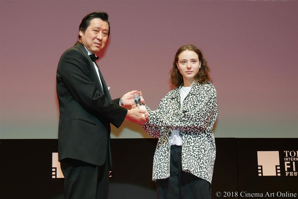 【写真】第31回 東京国際映画祭(TIFF) アウォード・セレモニー (東京ジェムストーン賞:カレル・トレンブレイ)
