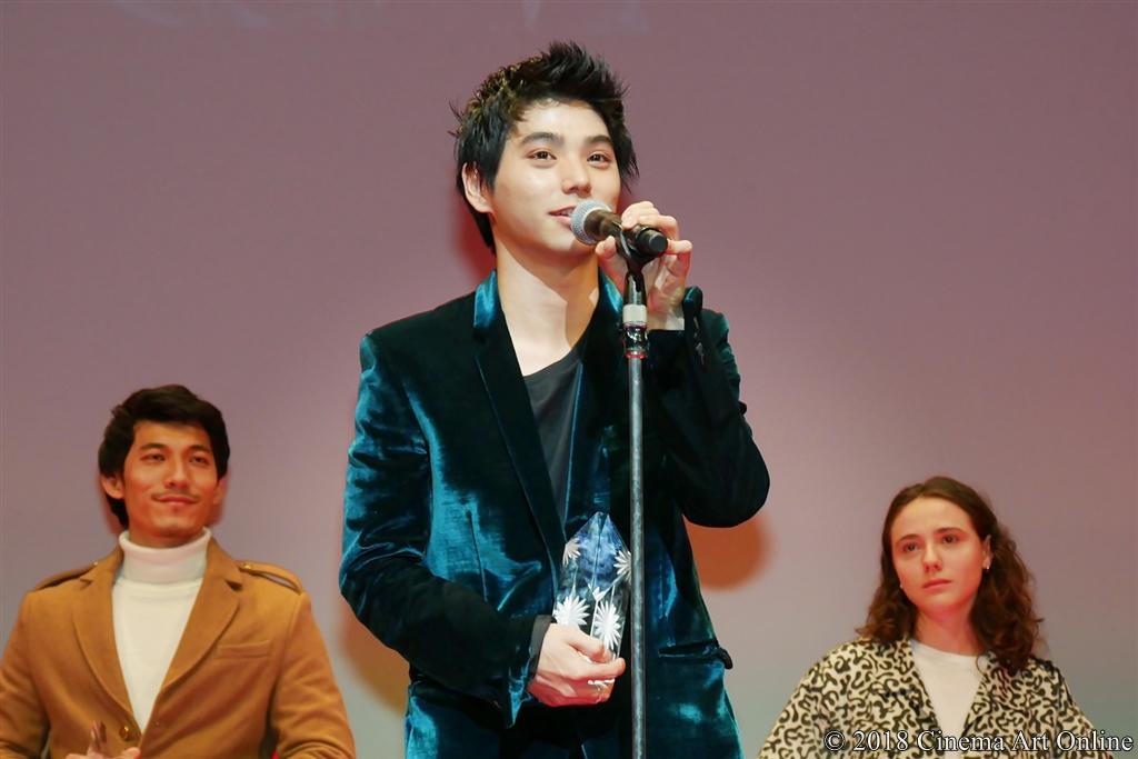 【写真】第31回 東京国際映画祭(TIFF) アウォード・セレモニー (東京ジェムストーン賞:村上虹郎
