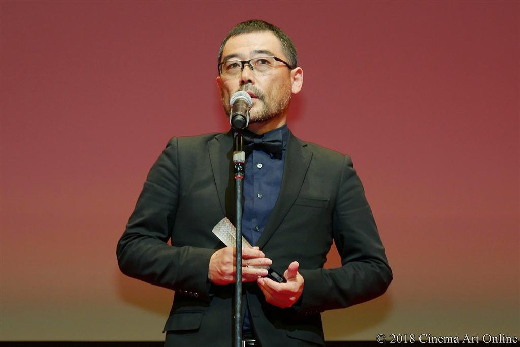 【写真】第31回 東京国際映画祭(TIFF) アウォード・セレモニー (日本映画スプラッシュ部門 監督賞:武正晴監督)