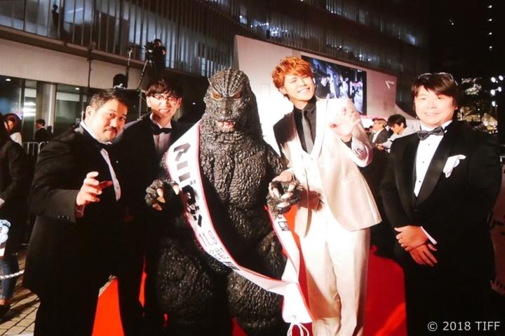 【写真】第31回 東京国際映画祭(TIFF)を振り返る (レッドカーペット ゴジラ)