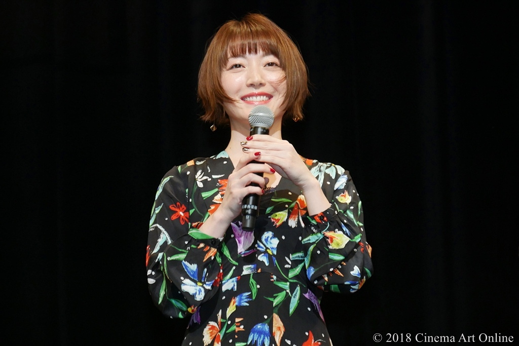 【写真】映画『GODZILLA 星を喰う者』ワールド・プレミア舞台挨拶 (花澤香菜)