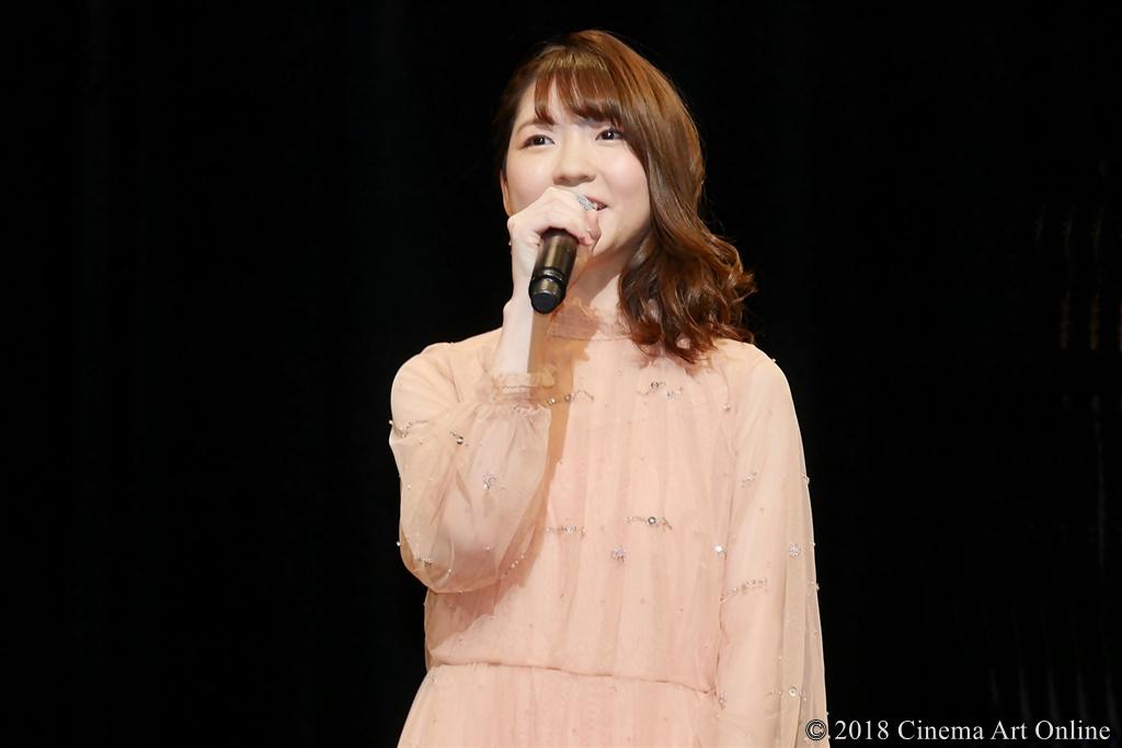 【写真】映画『GODZILLA 星を喰う者』ワールド・プレミア舞台挨拶 (小澤亜李)