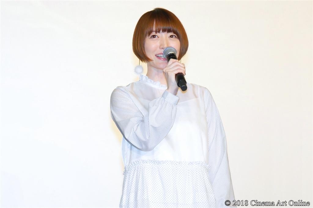 【写真】映画『GODZILLA 星を喰う者』公開記念舞台挨拶 (花澤香菜)