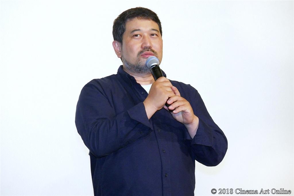 【写真】映画『GODZILLA 星を喰う者』公開記念舞台挨拶 (瀬下寛之監督)
