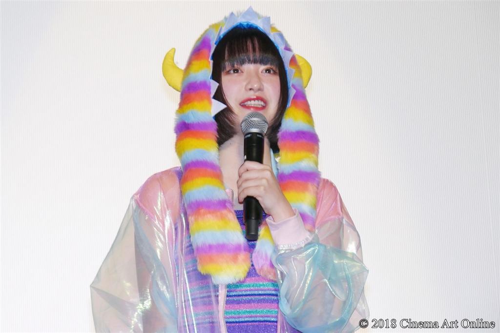 【写真】映画『ヌヌ子の聖★戦 ~HARAJUKU STORY~』公開初日舞台挨拶 (吉田凜音)