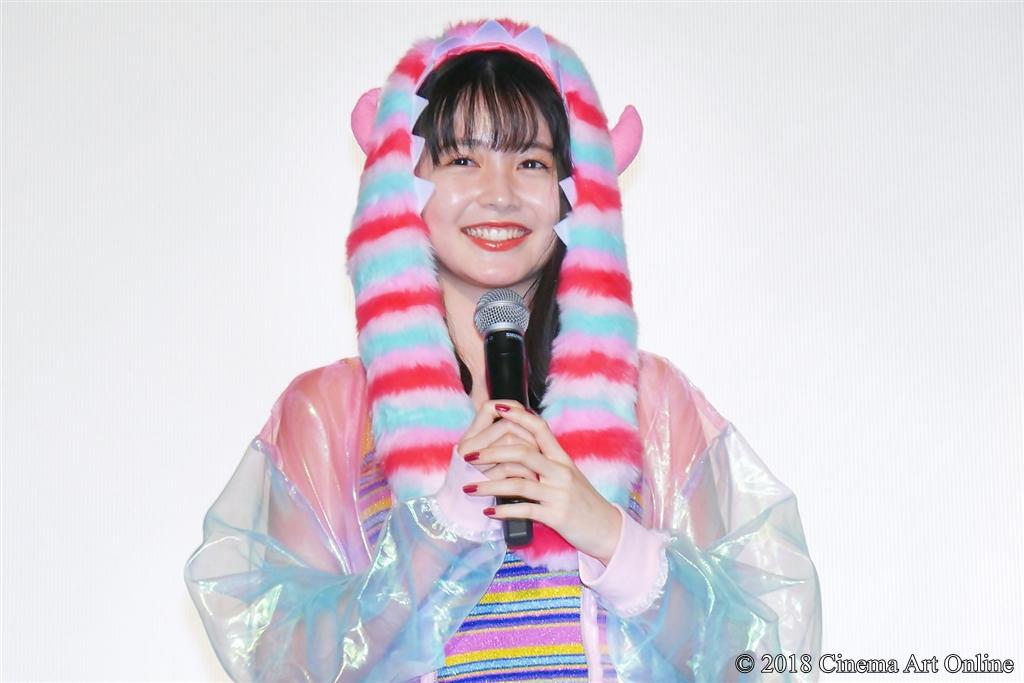 【写真】映画『ヌヌ子の聖★戦 ~HARAJUKU STORY~』公開初日舞台挨拶 (久間田琳加)