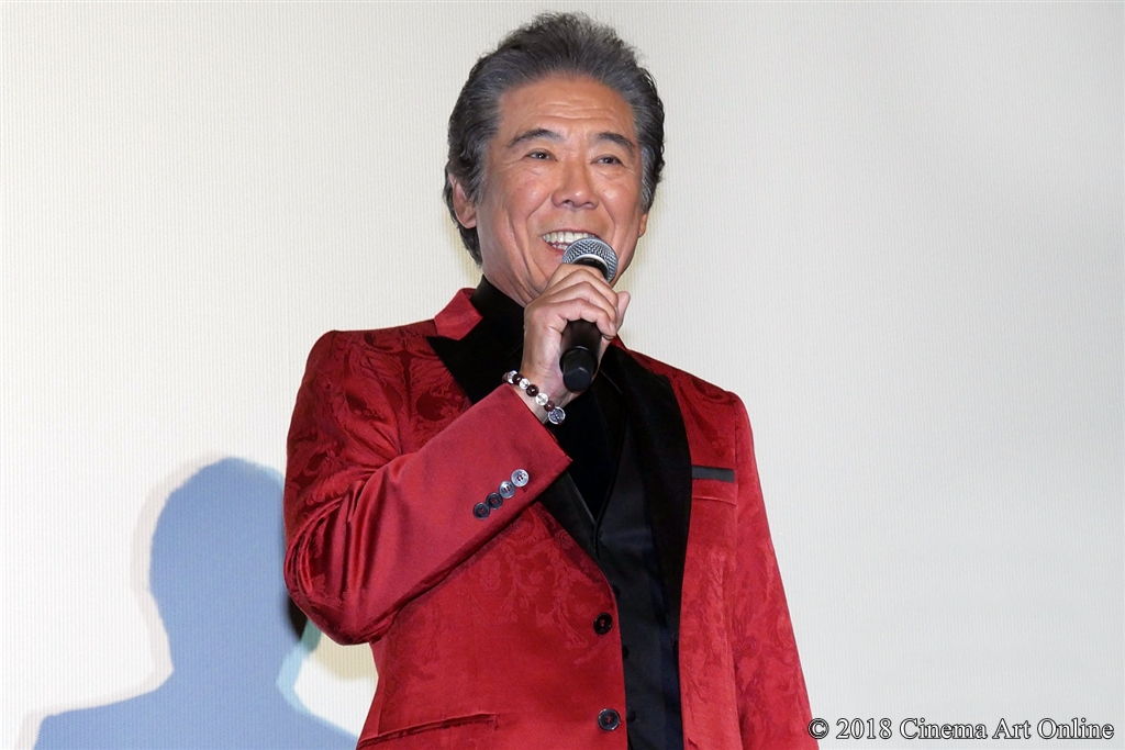 【写真】映画『ヌヌ子の聖★戦 ~HARAJUKU STORY~』公開初日舞台挨拶 (西岡徳馬)