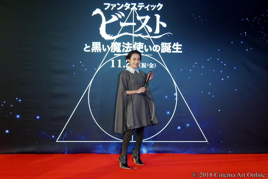 【写真】映画『ファンタスティック・ビーストと黒い魔法使いの誕生』〈ワールドツアーファイナルプレミア in JAPAN〉レッドカーペット (髙橋愛)