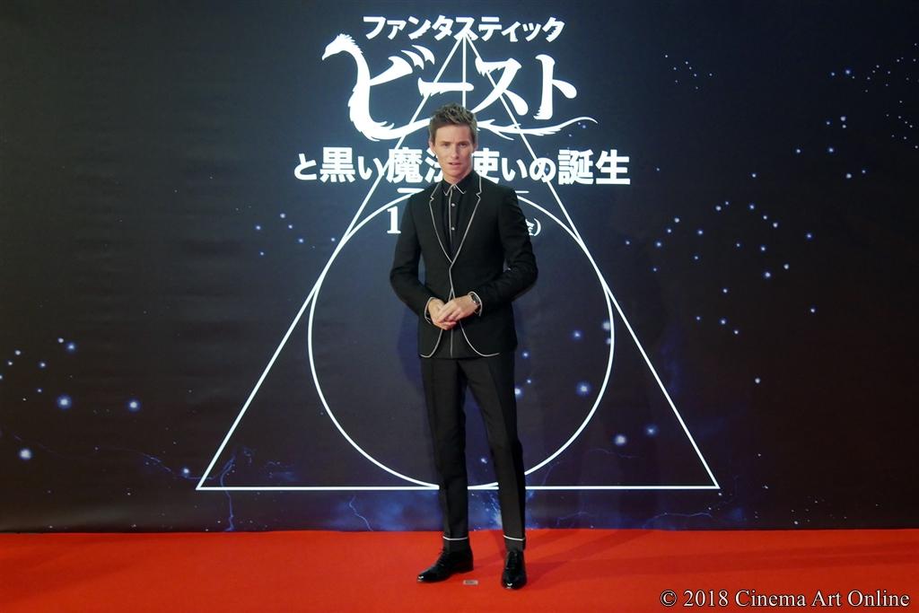 【写真】映画『ファンタスティック・ビーストと黒い魔法使いの誕生』〈ワールドツアーファイナルプレミア in JAPAN〉レッドカーペット (エディ・レッドメイン)