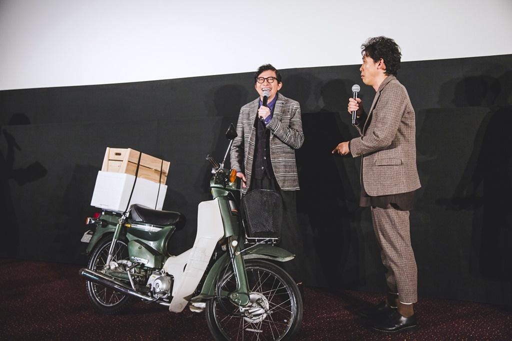 【写真】映画『そらのレストラン』完成披露試写会 舞台挨拶 (鈴井貴之、大泉洋)