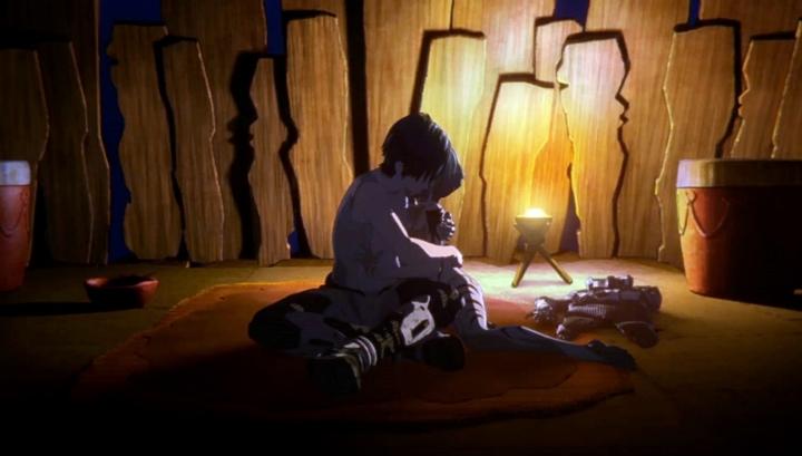 【画像】映画『GODZILLA 星を喰う者』<予告編注目カット ハルオ×ミアナ?orマイナ?>