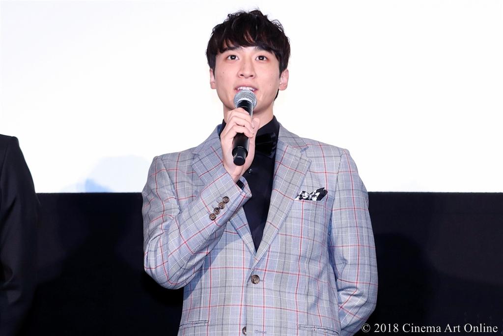 "【写真】映画『春待つ僕ら』公開""Anniversary""舞台挨拶 (小関裕太)"