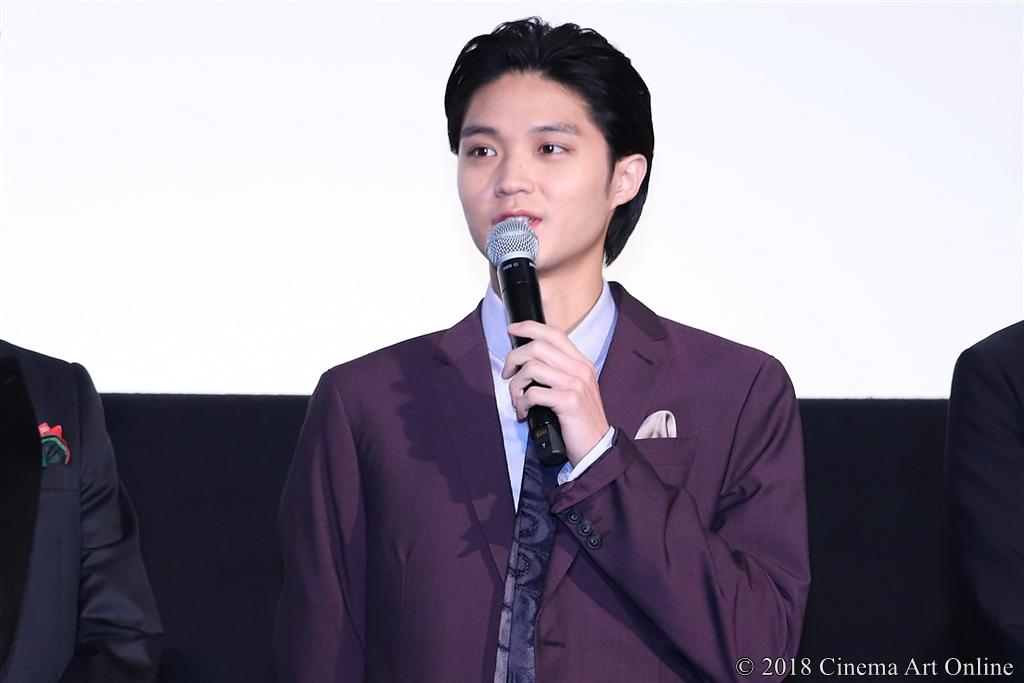 """【写真】映画『春待つ僕ら』公開""""Anniversary""""舞台挨拶 (磯村)"""