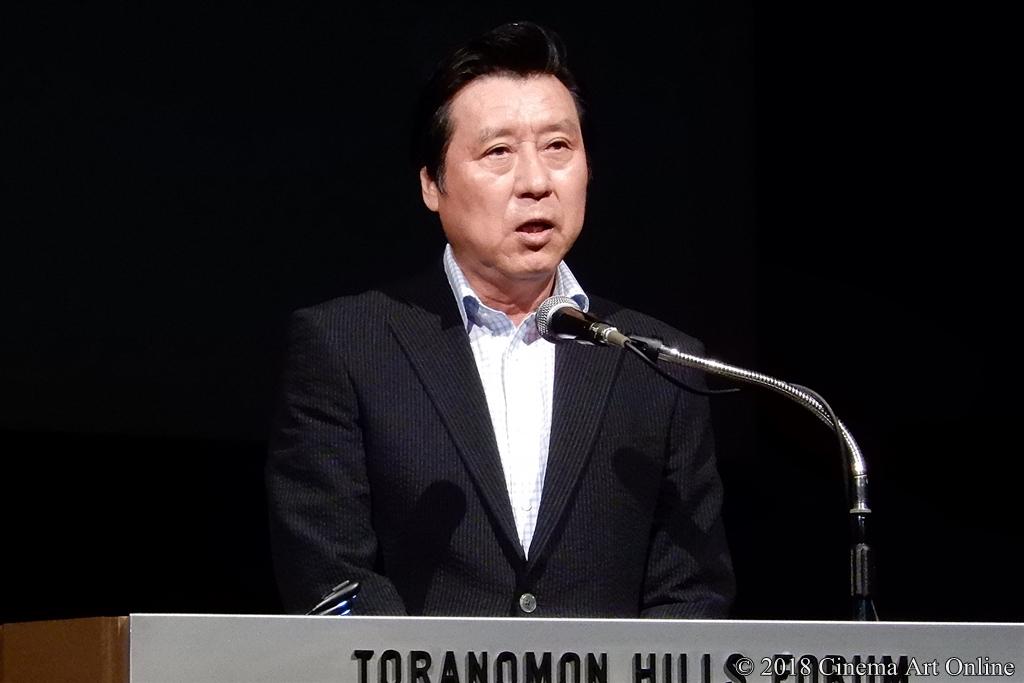 【写真】第31回東京国際映画祭(TIFF) ラインナップ記者会見 (久松猛朗ディレクター)