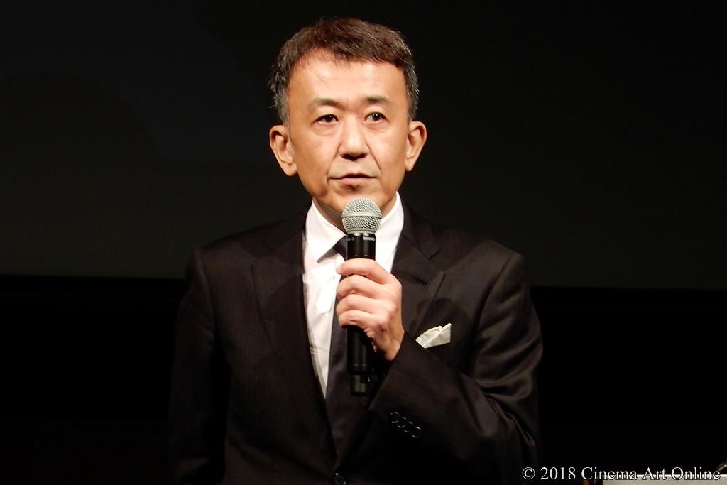 【写真】第31回東京国際映画祭(TIFF) ラインナップ記者会見 (矢田部吉彦プログラミングディレクター)