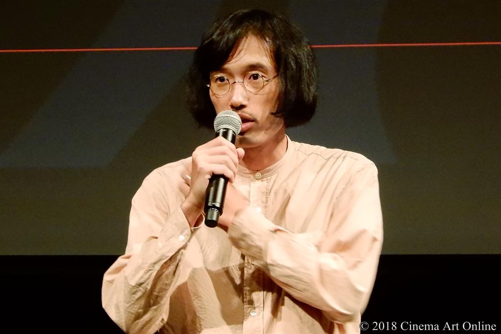 【写真】第31回東京国際映画祭(TIFF) ラインナップ記者会見 (今泉力哉監督)