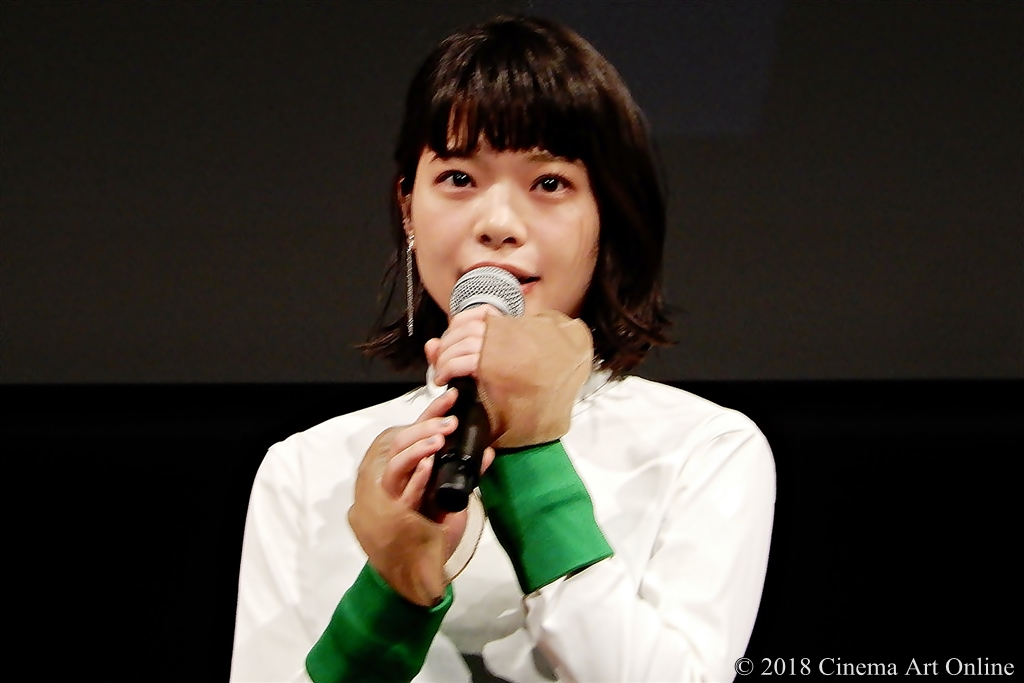 【写真】第31回東京国際映画祭(TIFF) ラインナップ記者会見 (岸井ゆきの)