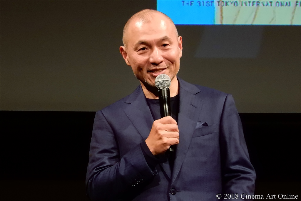 【写真】第31回東京国際映画祭(TIFF) ラインナップ記者会見 (湯浅政明監督)