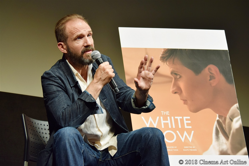 【写真】第31回東京国際映画祭(TIFF) コンペティション部門『ホワイト・クロウ』Q&A (レイフ・ファインズ)