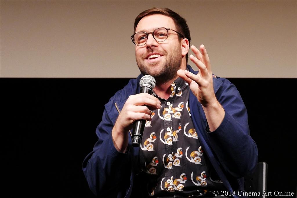 【写真】第31回東京国際映画祭(TIFF) コンペティション部門『大いなる闇の日々』Q&A (マキシム・ジルー監督)