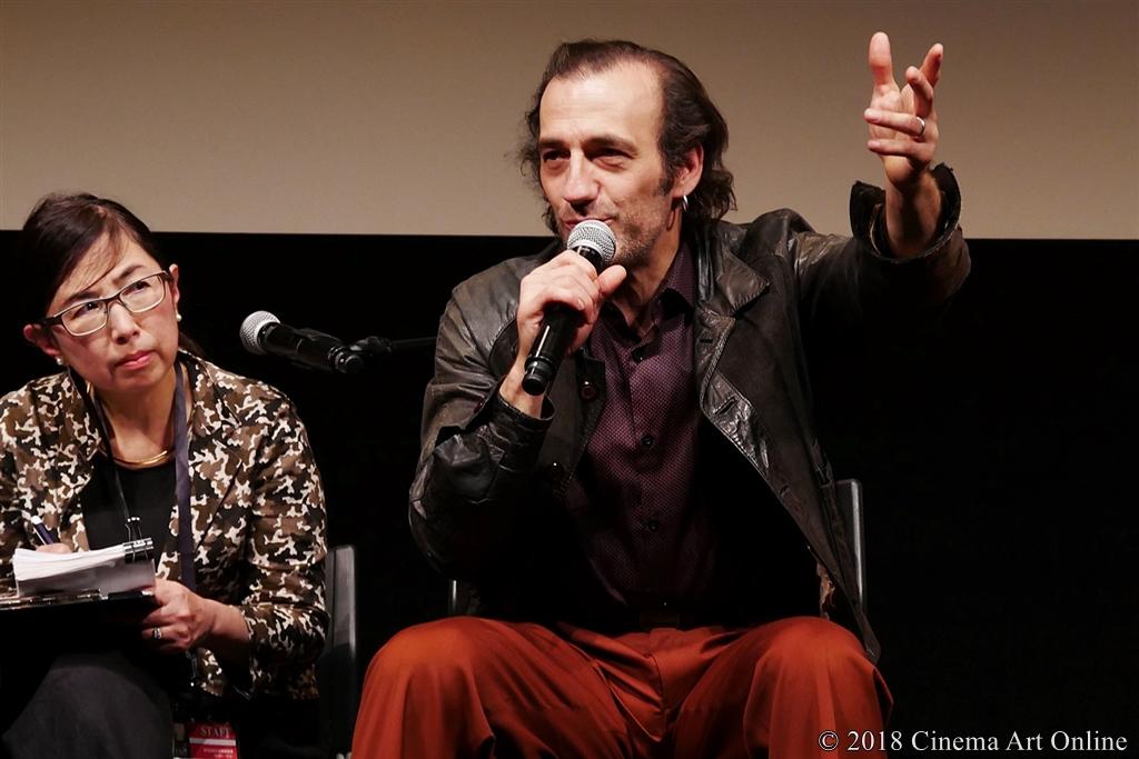 【写真】第31回東京国際映画祭(TIFF) コンペティション部門『大いなる闇の日々』Q&A (マルタン・デュプレイユ)