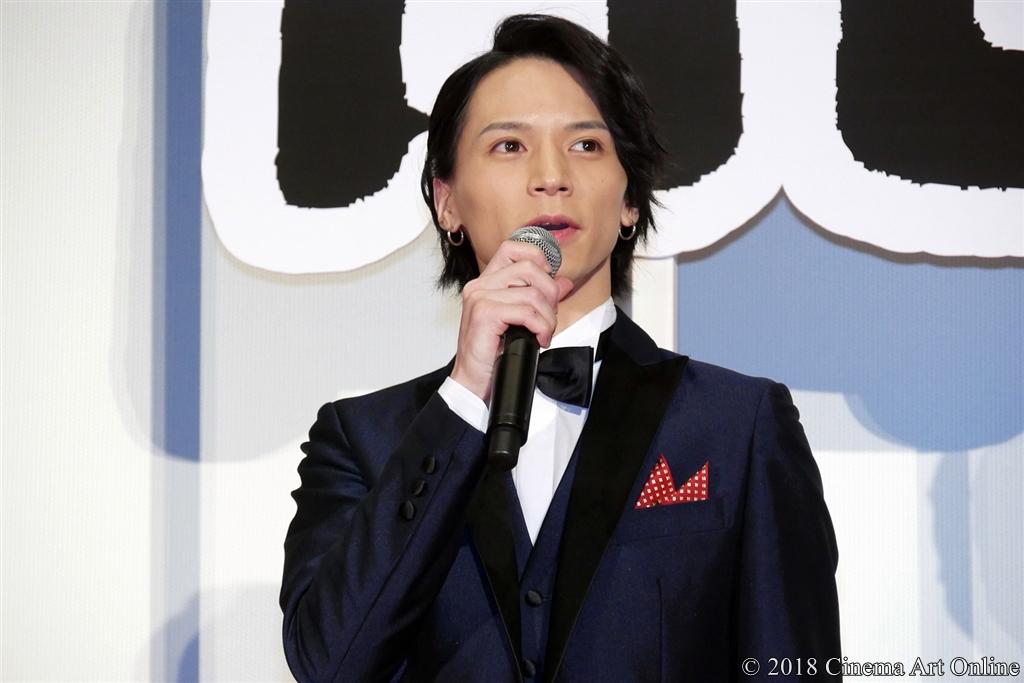 【写真】『映画刀剣乱舞』完成披露上映会舞台挨拶 (北村諒)