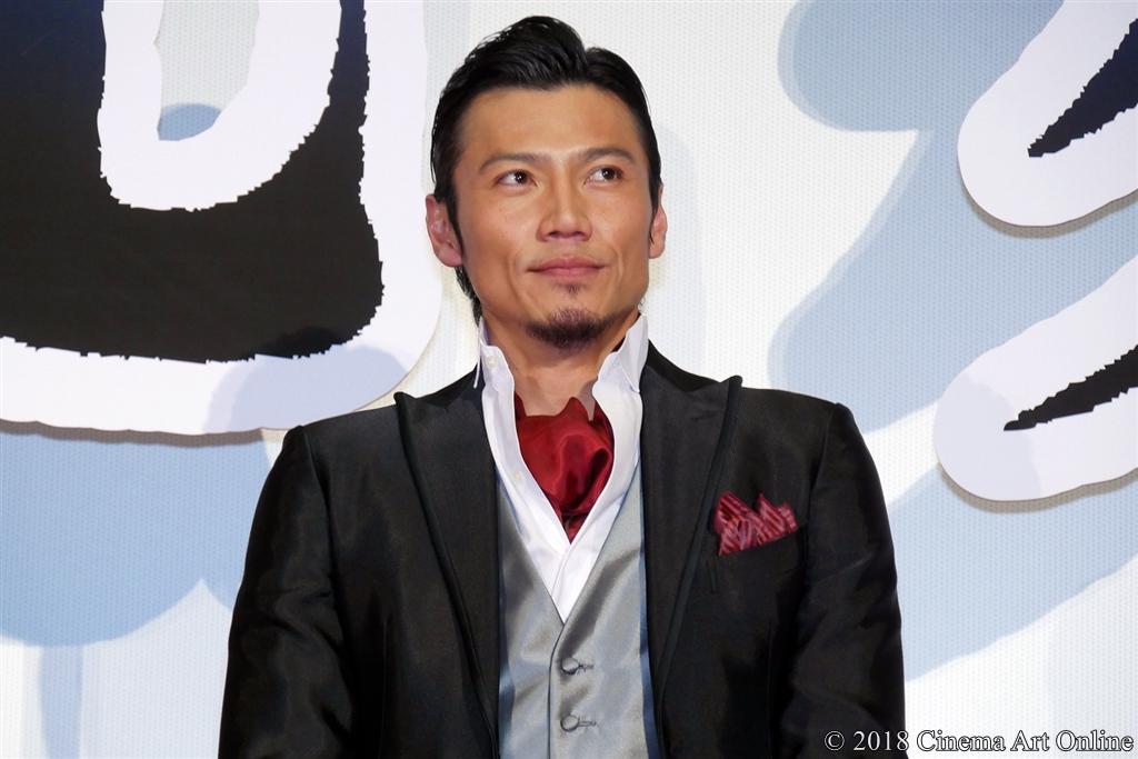【写真】『映画刀剣乱舞』完成披露上映会舞台挨拶 (岩永洋昭)