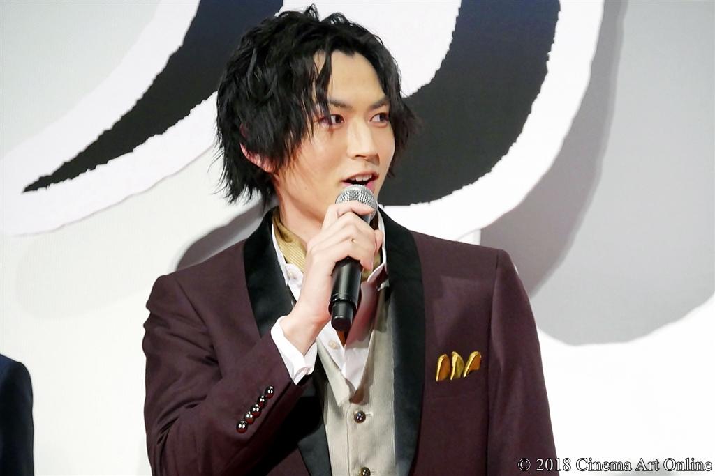 【写真】『映画刀剣乱舞』完成披露上映会舞台挨拶 (和田雅成)