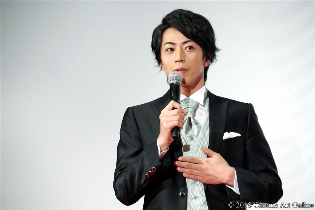 【写真】『映画刀剣乱舞』完成披露上映会舞台挨拶 (廣瀬智紀)