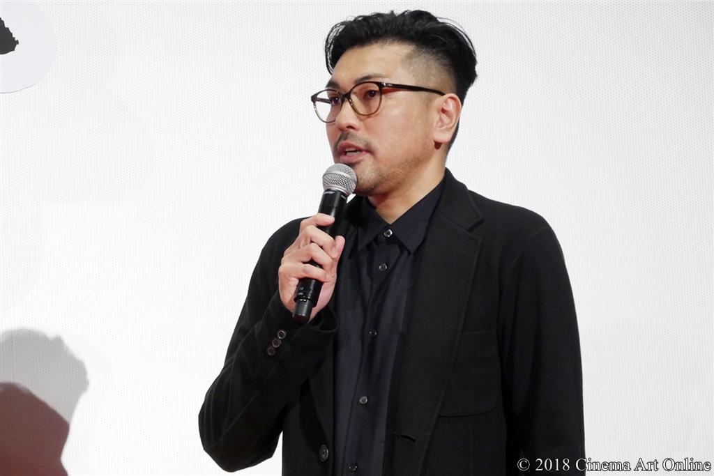【写真】『映画刀剣乱舞』完成披露上映会舞台挨拶 (耶雲哉治監督)