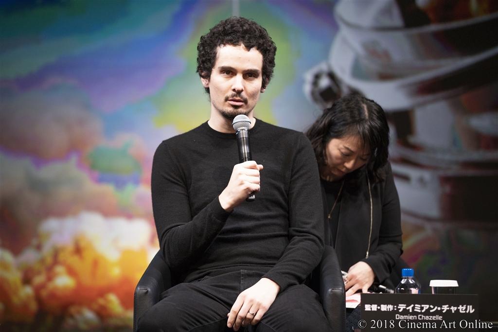 【写真】映画『ファースト・マン』来日記念イベント (デイミアン・チャゼル監督)