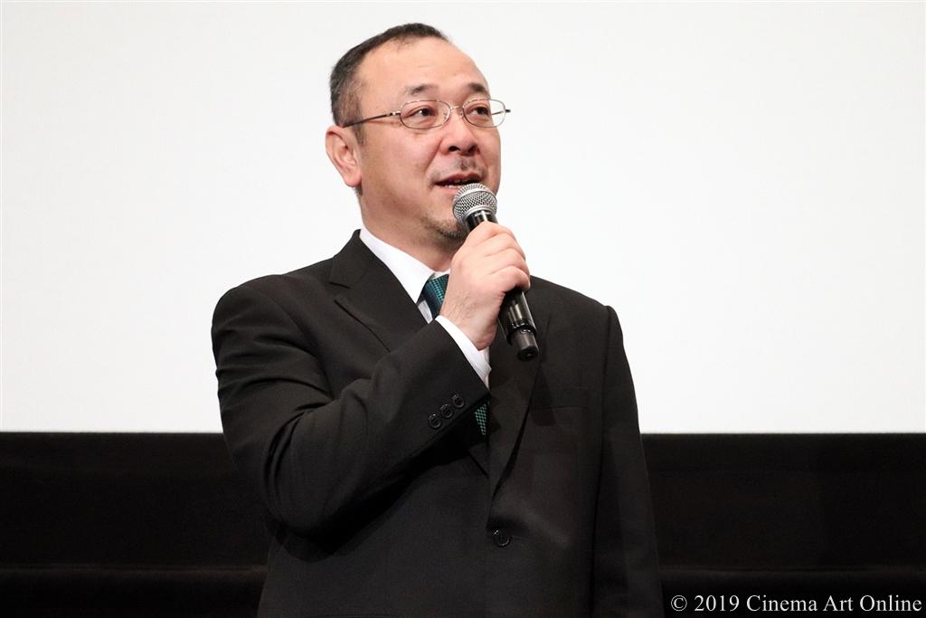 【写真】映画『愛唄 ―約束のナクヒト―』公開記念舞台挨拶 (川村泰祐監督)