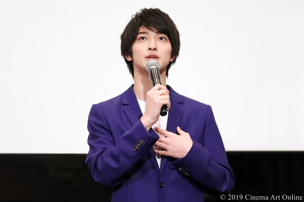 【写真】映画『愛唄 ―約束のナクヒト―』公開記念舞台挨拶 (横浜流星)