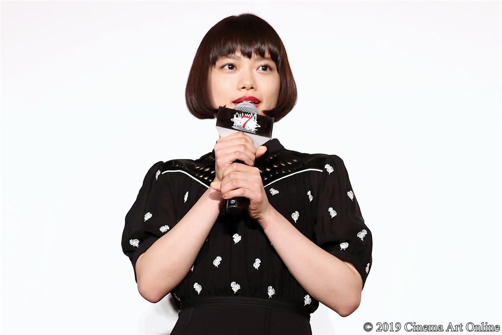 【写真】映画『十二人の死にたい子どもたち』公開記念舞台挨拶 (杉咲花)
