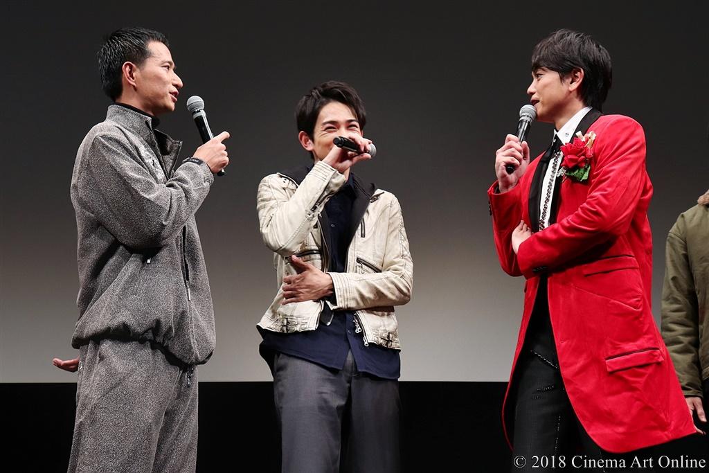 【写真】秋山真太郎、町田啓太、青柳翔