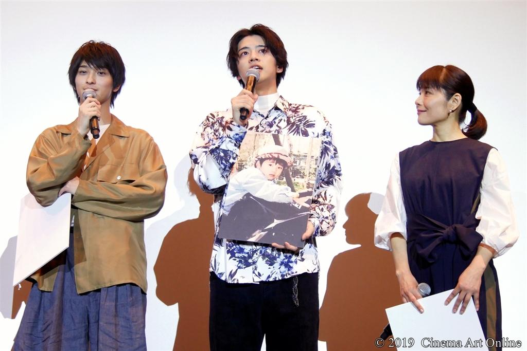 【写真】映画『愛唄 -約束ナクヒト-』親子試写会 (飯島寛騎 懐かしの写真公開)