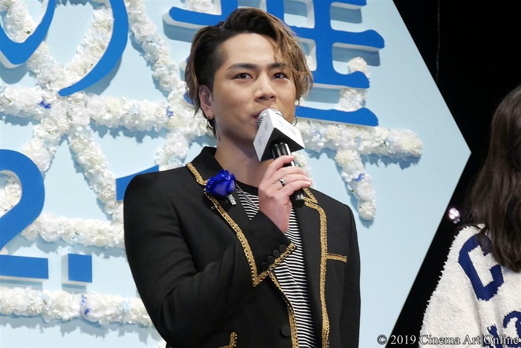 【写真】映画『雪の華』ジャパンプレミア (登坂広臣)