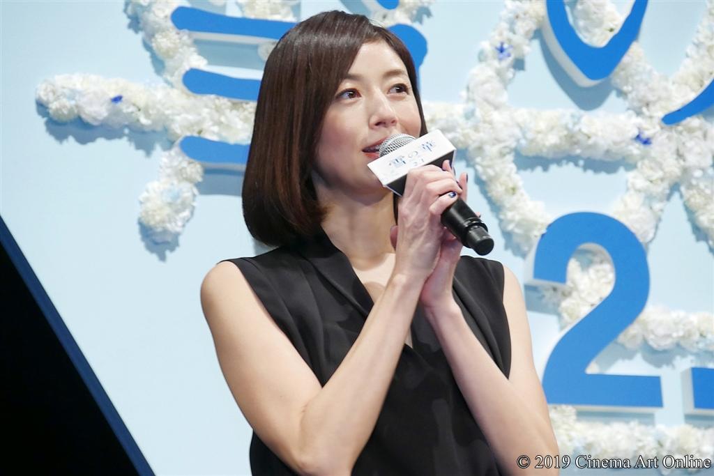 【写真】映画『雪の華』ジャパンプレミア (高岡早紀)