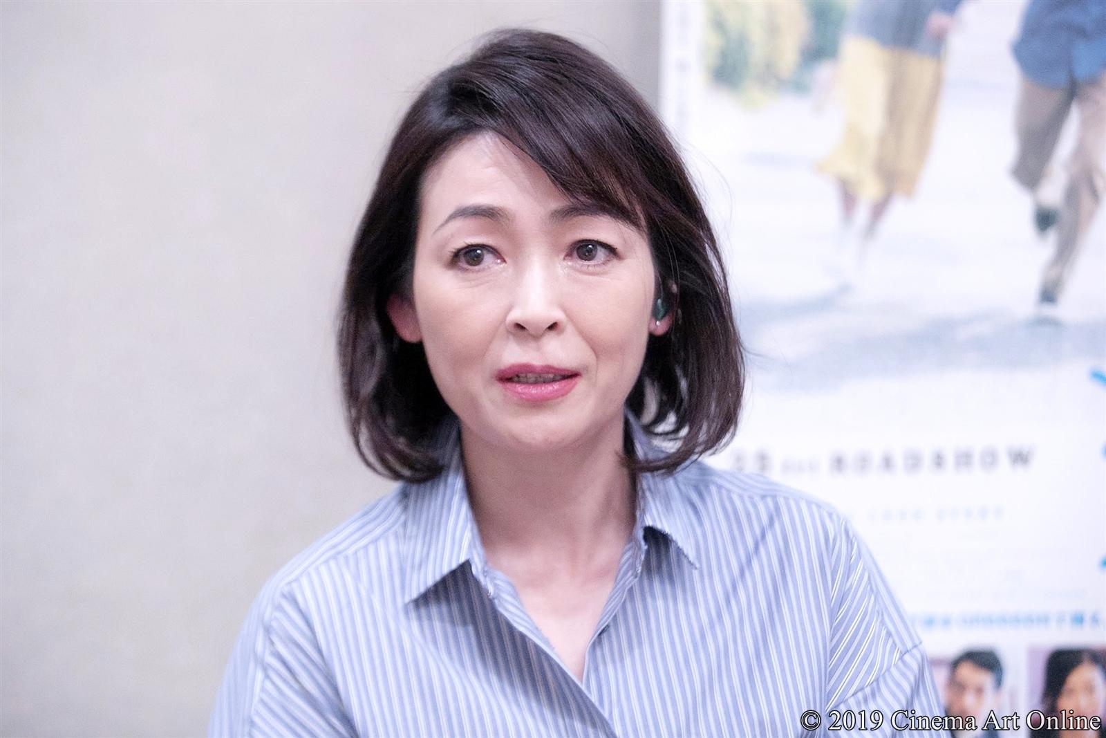 【写真】映画『愛唄 ー約束のナクヒトー』財前直見インタビュー