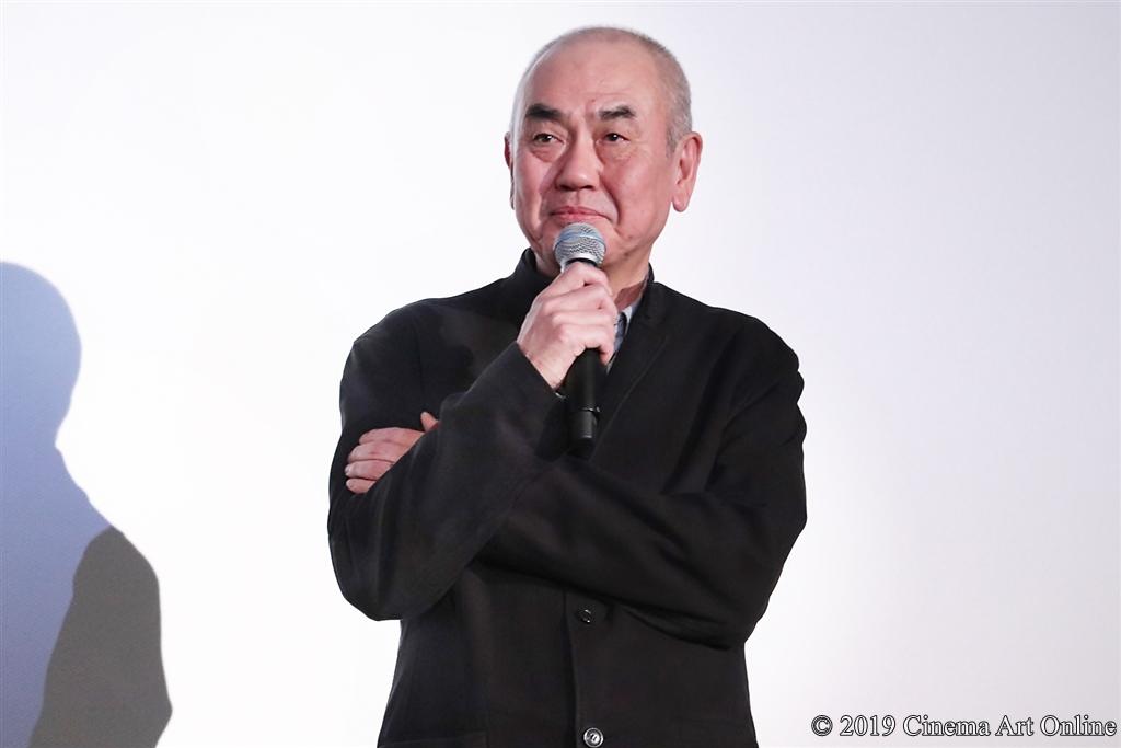 【写真】映画『この道』公開記念舞台挨拶 (佐々部清監督)