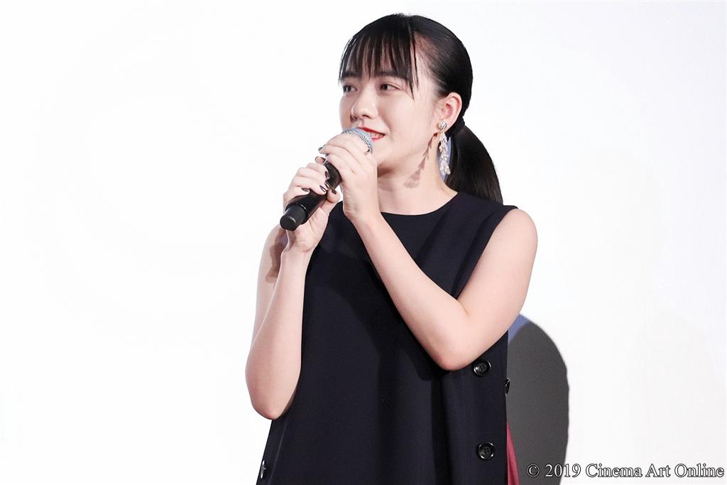 【写真】映画『この道』公開記念舞台挨拶 (小島藤子)
