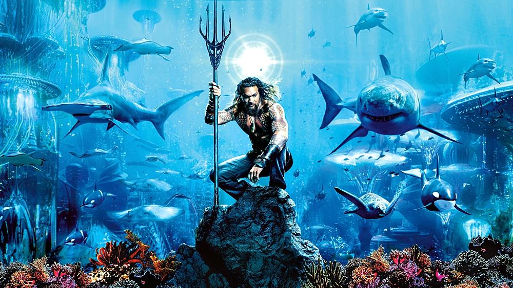 【画像】映画『アクアマン』(原題:Aquaman) メインカット