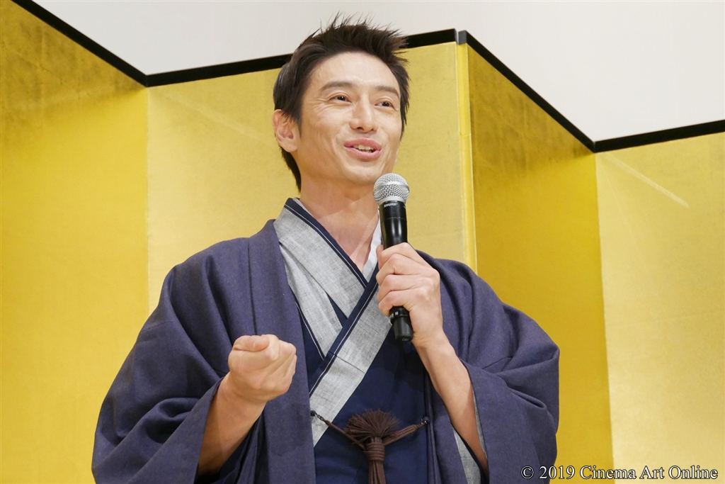 【写真】映画『翔んで埼玉』公開初日舞台挨拶 (伊勢谷友介)