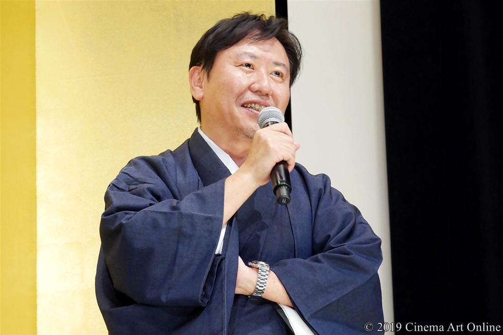 【写真】映画『翔んで埼玉』公開初日舞台挨拶 (武内英樹監督)