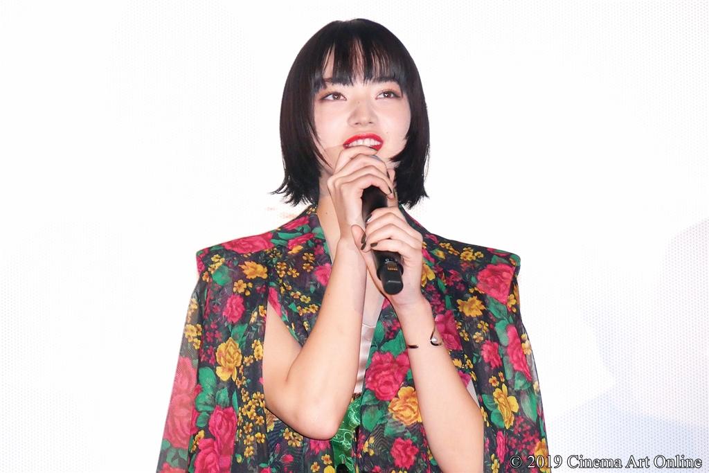 【写真】映画『サムライマラソン』公開記念舞台挨拶 (小松菜奈)