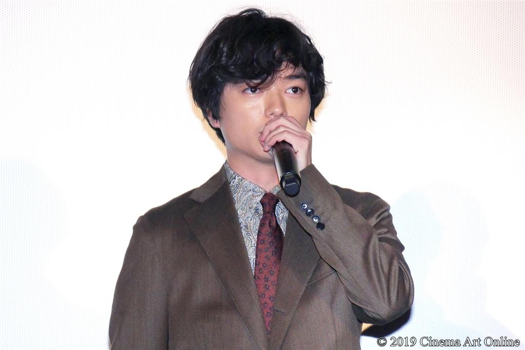 【写真】映画『サムライマラソン』公開記念舞台挨拶 (染谷将太)