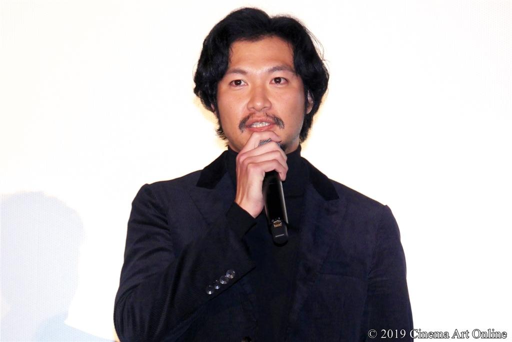 【写真】映画『サムライマラソン』公開記念舞台挨拶 (青木崇高)