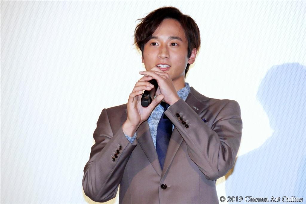 【写真】映画『サムライマラソン』公開記念舞台挨拶 (小関裕太)