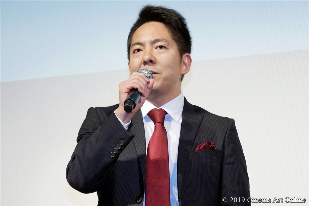 【写真】映画『凜—りん—』プレミア試写会舞台挨拶 (池田克彦監督)